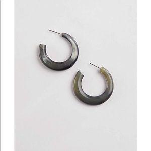 J. Jill modern horn open hoops